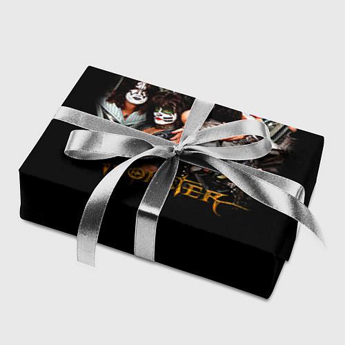 Бумага для упаковки Kiss Monster / 3D – фото 2
