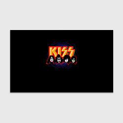 Бумага для упаковки KISS: Death Faces цвета 3D-принт — фото 1