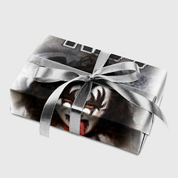 Бумага для упаковки KISS: Adult demon wig цвета 3D-принт — фото 2