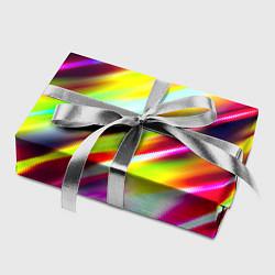 Бумага для упаковки Цветные блики цвета 3D — фото 2