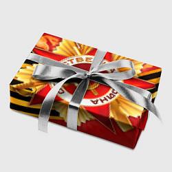 Бумага для упаковки День победы 4 цвета 3D — фото 2