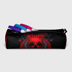 Пенал для ручек Megadeth цвета 3D-принт — фото 2