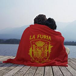 Плед флисовый La Furia цвета 3D-принт — фото 2