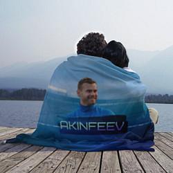 Плед флисовый Akinfeev цвета 3D-принт — фото 2