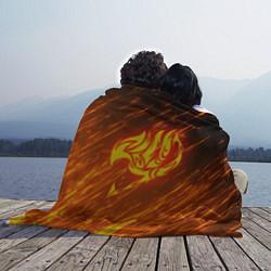 Плед флисовый NATSU DRAGNEEL цвета 3D — фото 2