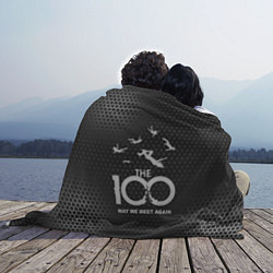 Плед флисовый The 100 цвета 3D-принт — фото 2