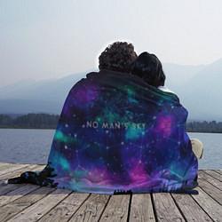 Плед флисовый No Man's Sky: Space Vision цвета 3D-принт — фото 2