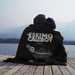 Плед флисовый Eskimo Callboy: Crystalis цвета 3D-принт — фото 2