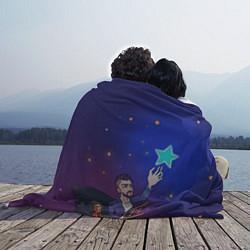 Плед флисовый JONY Звезда цвета 3D — фото 2