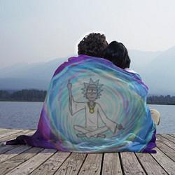 Плед флисовый Rick in Nirvana цвета 3D — фото 2
