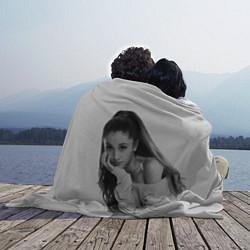 Плед флисовый Ariana Grande Ариана Гранде цвета 3D-принт — фото 2
