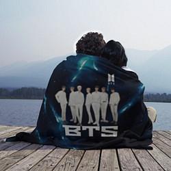 Плед флисовый BTS цвета 3D — фото 2