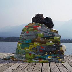 Плед флисовый Геранд шоп-Мир танков цвета 3D — фото 2