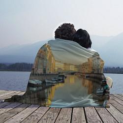 Плед флисовый Питер цвета 3D — фото 2