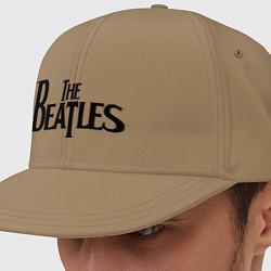 Кепка-снепбек The Beatles цвета миндальный — фото 1