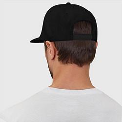 Кепка-снепбек Крик: запрещено цвета черный — фото 2