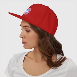 Кепка-снепбек Bayern Munchen FC цвета красный — фото 2