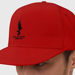 Кепка-снепбек Hollywood Undead цвета красный — фото 1