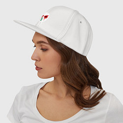 Кепка-снепбек J-Dog цвета белый — фото 2