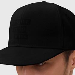 Кепка-снепбек I love bad boys цвета черный — фото 1
