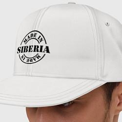 Кепка-снепбек Made in Siberia цвета белый — фото 1