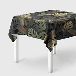 Скатерть для стола Тропический камуфляж цвета 3D — фото 2