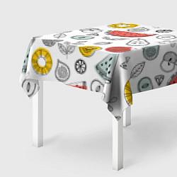 Скатерть для стола Летний микс цвета 3D-принт — фото 2