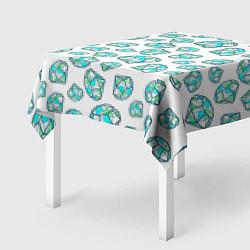 Скатерть для стола Бриллианты цвета 3D — фото 2
