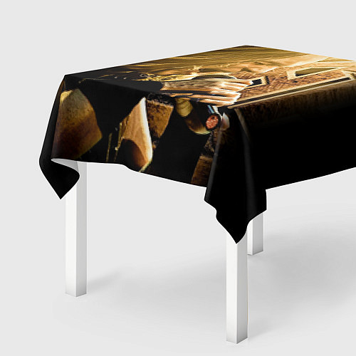 Скатерть для стола Кипелов: Ария / 3D – фото 2