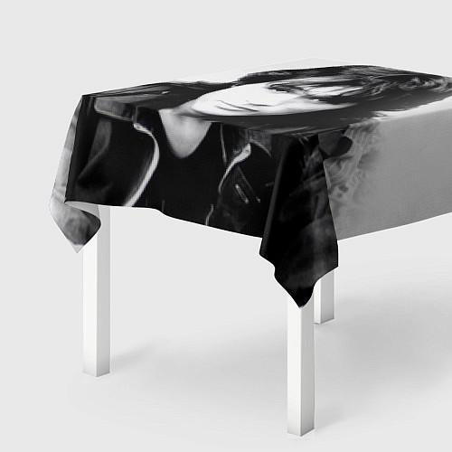 Скатерть для стола Кино: Виктор Цой / 3D – фото 2