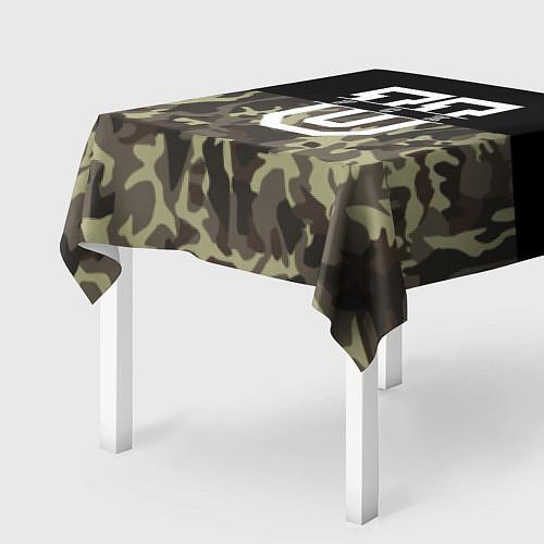Скатерть для стола FCK U: Camo / 3D – фото 2