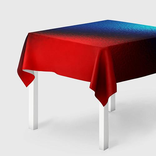Скатерть для стола Синий и красный / 3D – фото 2
