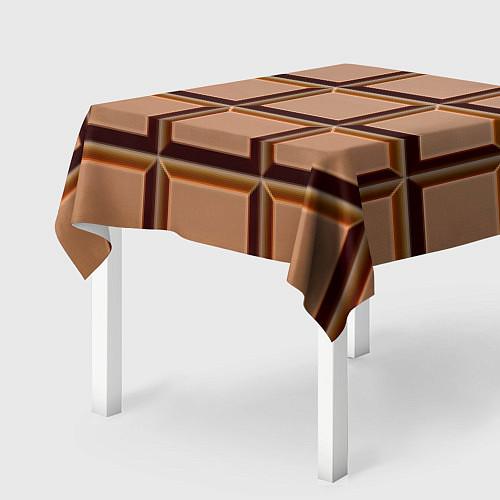 Скатерть для стола Шоколад / 3D – фото 2