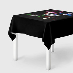 Скатерть для стола KISS: Acid Colours цвета 3D — фото 2
