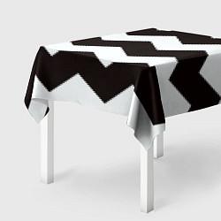 Скатерть для стола Полосы цвета 3D — фото 2