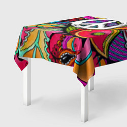 Скатерть для стола Хиппи 2 цвета 3D — фото 2