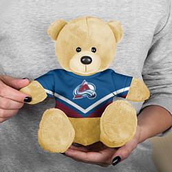 Игрушка-медвежонок NHL: Colorado Avalanche цвета 3D-желтый — фото 2