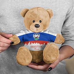 Игрушка-медвежонок Irkutsk: Russia цвета 3D-коричневый — фото 2