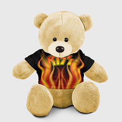 Игрушка-медвежонок KISS цвета 3D-желтый — фото 1