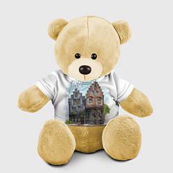 Игрушка-медвежонок Амстердам цвета 3D-желтый — фото 1