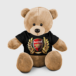 Игрушка-медвежонок Arsenal цвета 3D-коричневый — фото 1