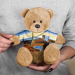 Игрушка-медвежонок Постоянство Памяти цвета 3D-коричневый — фото 2
