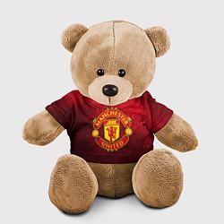 Игрушка-медвежонок Манчестер Юнайтед цвета 3D-коричневый — фото 1