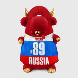 Игрушка-бычок Russia: from 89 цвета 3D-красный — фото 1