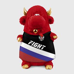 Игрушка-бычок Fight Russia цвета 3D-красный — фото 1