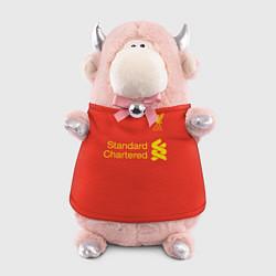 Игрушка-бычок FC Liverpool: Salah 18/19 цвета 3D-светло-розовый — фото 1