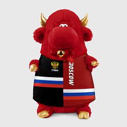 Игрушка-бычок Moscow, Russia цвета 3D-красный — фото 1