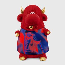 Игрушка-бычок T-Fest: Neon Style цвета 3D-красный — фото 1