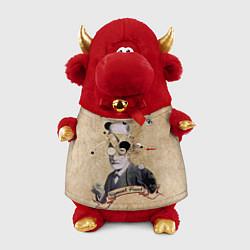 Игрушка-бычок Зигмунд Фрейд цвета 3D-красный — фото 1
