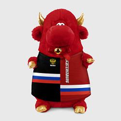Игрушка-бычок Ekaterinburg, Russia цвета 3D-красный — фото 1